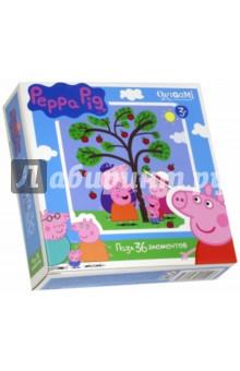 Пазл-36 Peppa Pig (01550)Пазлы (15-50 элементов)<br>Пазл.<br>36 элементов.<br>Размер: 212х212 мм.<br>Изготовлено из картона и бумаги.<br>Не рекомендовано детям младше 3-х лет. Содержит мелкие детали.<br>Сделано в России.<br>