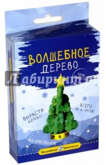 Елочка зеленая со звездой (cd-121g-1)Наборы для опытов<br>Вырасти волшебное дерево в кристаллах!<br>Это невероятно, но всего за 6 часов вы сможете сами вырастить красивое дерево из кристаллов. Попробуйте - это совсем не сложно.<br>В набор входит: основание дерева из плотного картона, подставка из пластика с углублением для жидкости, пакетик со специальной жидкостью, инструкция.<br>Набор содержит химические вещества, которые могут быть опасны при неправильном применении.<br>Не рекомендовано детям младше 3-х лет.<br>Дети до 14-ти лет должны выращивать кристаллы под наблюдением взрослых.<br>Сделано в Украине.<br>