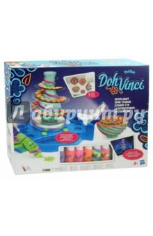 Набор для творчества «Студия дизайна Doh Vinci с подсветкой» (B1718) Hasbro