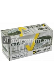 Степлер №10 черный (222529) Brauberg