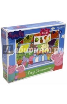 """Пазл-35 super-maxi """"Peppa Pig. Магазин фруктов"""" (01547)"""