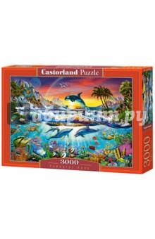 Puzzle-3000 Райская бухта (C-300396)Пазлы (2000 элементов и более)<br>Пазл-мозаика.<br>3000 элементов.<br>Размер картинки: 92 х 68 см.<br>Материал: картон.<br>Упаковка: картонная коробка.<br>Сделано в Польше.<br>