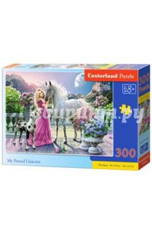 Puzzle-300 Единорог (В-030088)Пазлы (200-360 элементов)<br>Пазл-мозаика.<br>300 элементов.<br>Размер картинки: 40 х 29 см.<br>Материал: картон.<br>Упаковка: картонная коробка.<br>Для детей от 8 лет.<br>Сделано в Польше.<br>