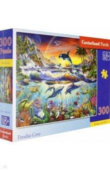 Puzzle-300 Райская бухта (В-030101)Пазлы (200-360 элементов)<br>Пазл-мозаика.<br>300 элементов.<br>Размер картинки: 40 х 29 см.<br>Материал: картон.<br>Упаковка: картонная коробка.<br>Для детей от 8 лет.<br>Сделано в Польше.<br>