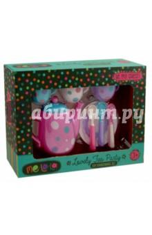 Набор детской посуды MeLaLa Время для чая (62154)Наборы игрушечной посуды<br>Набор кукольной посуды для чая.<br>В наборе 8 предметов.<br>Материал: пластмасса.<br>Упаковка: картонная коробка.<br>Для детей от 3 лет.<br>Сделано в Китае.<br>