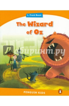 Wizard of OzЛитература на иностранном языке для детей<br>One day, a great storm takes Dorothy, and her dog Toto, to Oz. They have to follow the yellow brick road and find the Wizard of Oz to go home. Dorothy meets new friends; a scarecrow, a tin man, and a lion. Can they help her find the Wizard, and go home to her family?<br>