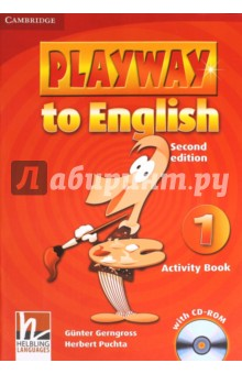 Playway to English 1. Activity Book (+CD)Изучение иностранного языка<br>Playway to English, Second edition, is a new version of the popular four-level course for teaching English to young children. <br>Pupils acquire English through play, music and Total Physical Response, providing them with a fun and dynamic language learning experience. <br>In the Activity Book children can: - Practise all the target language from Pupil s Book 1; - Consolidate learning with an engaging CD-ROM, containing a rich assortment of exciting activities.<br>Second Edition.<br>