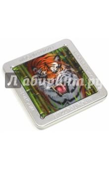 Настольная игра Тигр. 3D-пазл магнитный