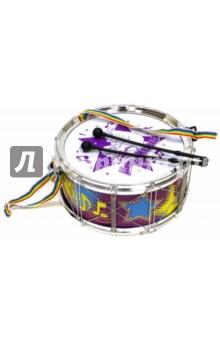 Барабан со светом и звуком, на батарейках (GT8744)