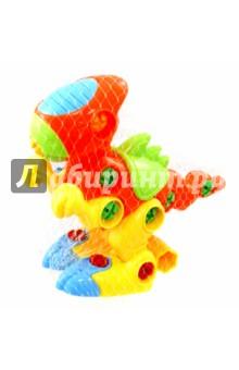 Конструктор Динозаврик с отверткой (62027)Конструкторы из пластмассы и мягкого пластика<br>Конструктор Динозаврик с отверткой.<br>Материал: пластик.<br>Для детей старше 3-х лет.<br>Запрещено детям младше 3-х лет. Содержит мелкие детали.<br>Сделано в Китае.<br>