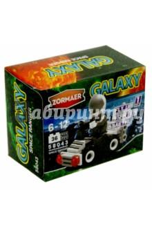 Конструктор Zormaer Galaxy Космический рейнджер, 36 элементов (58043)Конструкторы из пластмассы и мягкого пластика<br>Конструкторский набор Zormaer.<br>36 элементов.<br>Материал: пластмасса.<br>Упаковка: картонная коробка.<br>Для детей 6-12 лет.<br>Сделано в Китае.<br>
