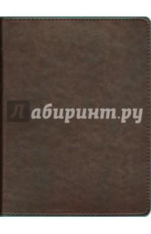 Тетрадь Копибук (на кольцах, 160 листов, коричневая с бирюзовым) (40223)Тетради многопредметные, со сменными блоками<br>Тетрадь общая Копибук.<br>Цвет: коричневый с бирюзовым. <br>Формат: А5.<br>Кол-во страниц: 160.<br>Бумага: офсет.<br>Линовка: клетка.<br>Крепление: кольца.<br>Обложка: твердая, под кожу.<br>Сделано в Китае.<br>