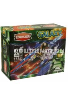 Конструктор Zormaer Galaxy Гиператака, 129 элементов (58844)Конструкторы из пластмассы и мягкого пластика<br>Конструкторский набор Zormaer.<br>129 элементов.<br>Материал: пластмасса.<br>Упаковка: картонная коробка.<br>Для детей 6-12 лет.<br>Сделано в Китае.<br>