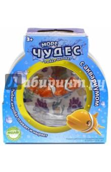 Рыбка-акробат Лаки с аквариумом (159024)Роботы и трансформеры<br>Ваш ребенок мечтает о рыбке? С этим замечательным набором мечта станет реальностью! Рыбка-акробат Лаки так похожа на настоящего морского обитателя! Она плавает за счёт микро-моторчика в хвосте, траектория движений зависит от наклона хвоста. Лаки виртуозно умеет нырять на глубину и быстро подниматься на поверхность. Очаровательная рыбка подарит детям множество положительных эмоция и улыбок!<br>Дополнительная информация:<br>- Размер рыбки: 9 см.<br>- Размер аквариума: 16х16х10 см. <br>- Материал: пластик.<br>- Элемент питания: 1 батарейка ААА (в комплект не входит).<br>Для детей в возрасте: от 3 до 6 лет.<br>Сделано в Китае.<br>