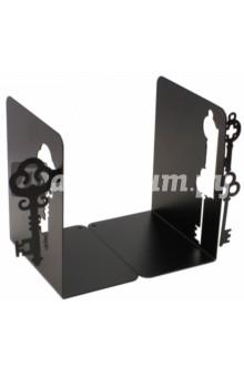 Подставка-ограничитель для книг Ключи (2 штуки) (40928)Другое<br>Декоративная подставка-ограничитель для книг.<br>Комплект из 2 штук.<br>Размер: 15х8х12 см.<br>Материал: черный окрашенный металл с антискользящими подложками из ЭВА (этиленвинилацетата).<br>Упаковка: картонная коробка<br>Сделано в Китае.<br>