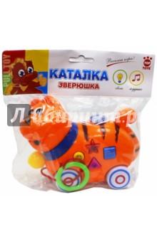 Каталка GT8888 Кот со звуком, на батарейках Top Toys