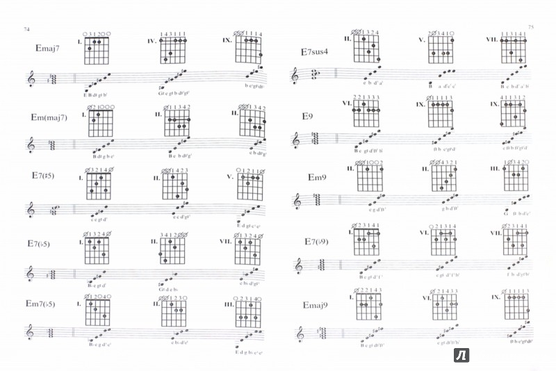 Иллюстрация 1 из 5 для Гитара для всех. Самоучитель игры на шестиструнной гитаре. Таблицы гитарных аккордов - Владимир Катанский | Лабиринт - книги. Источник: Лабиринт