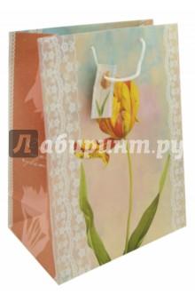 "Пакет бумажный 26*32,4*12,7 ""Тюльпан"" (39663) Феникс-Презент"