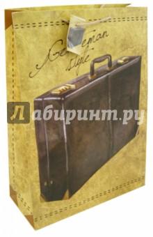 """Пакет бумажный 33*45,7*10,2 """"Дипломат"""" (40860) Феникс-Презент"""
