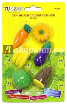 """Набор ластиков """"Овощи"""" (TZ 6304) TUKZAR"""