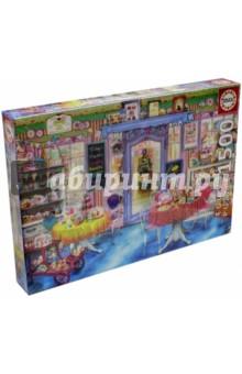 Пазл-1500 Магазин сладостей (16769)Пазлы (1500 элементов)<br>Пазл-мозаика.<br>Состоит из 1500 элементов.<br>Правила игры: вскрыть упаковку и собрать игру по картинке.<br>Размер собранной картинки: 85х60 см.<br>Не давать детям до 3-х лет из-за наличия мелких деталей.<br>Упаковка: картонная коробка.<br>Производитель: Испания.<br>