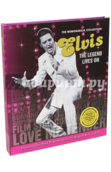 Elvis The Legend Lives OnКультура, искусство, наука на английском языке<br>Enter the world of the swinging hips, curled lips and devoted fans with this stunning collection of the King of Rock  n  Roll. From Elvis  early career to his legendary status, the Memorabilia Collection is a playlist of Elvis  outstanding career and is a must-have for any music lovers, old or young. The Elvis Memorabilia Collection includes five collectable photographs, a replica newspaper covering Elvis  key life stories, a copy of Elvis  birth certificate and a copy of a handwritten letter from the King himself.<br>