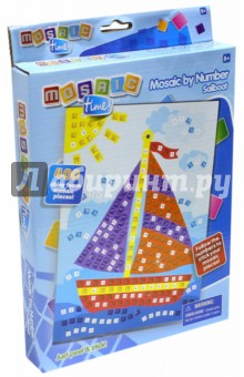 Мозаика Парусная лодка (FM1401)Мозаика<br>Мозаика Парусная лодка.<br>В наборе 400 блестящих деталей мозаики.<br>Для детей старше 5-ти лет.<br>Запрещено детям до 3-х лет из-за наличия мелких деталей.<br>Сделано в Китае.<br>