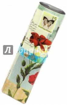 Пенал-органайзер Бабочки (41042)Пеналы-тубусы<br>Пенал-органайзер Бабочки.<br>Предназначен для хранения мелких предметов. <br>Изготовлен из ПВХ. Без наполнения.<br>Сделано в Китае.<br>