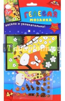 Мозаика гелевая Жираф, А6 (С2603-08)Мозаика<br>Набор для детского творчества.<br>На картонную основу приклейте элементы из самоклеящегося пластика. Картинку на обложке используйте как образец.<br>Состав набора: картон, пластик.<br>Детям от 3-х до 5-ти лет рекомендуется заниматься под наблюдением родителей. <br>Для детей старше 3-х лет.<br>Сделано в Тайване.<br>