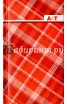 Телефонная книга. Красная клетка. 48 листов. 90х155 мм. (39823-25) Феникс+
