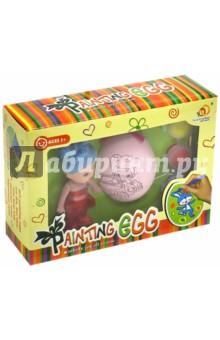 Набор для раскрашивания (62315)Раскрашиваем и декорируем объемные фигуры<br>Набор для раскрашивания с куклой. <br>В наборе: кукла, пластиковое яйцо с изображением, краски и кисть.<br>Для детей от трех лет. <br>Упаковка: картонная коробка.<br>