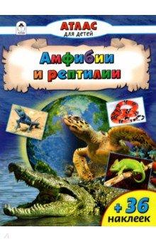 Амфибии и рептилииЖивотный и растительный мир<br>Ящерицы и черепахи, змеи и крокодилы, а также давно вымершие динозавры - это пресмыкающиеся, или рептилии, - дышащие лёгкими позвоночные животные, кожа которых покрыта роговой чешуёй или щитками, что позволяет легко отличить этих животных от наделённых тонкой кожей земноводных (например, ящериц от тритонов и саламандр). В мире известно около 9400 видов пресмыкающихся, на территории России обитает 72 вида.<br>Для чтения взрослыми детям.<br>