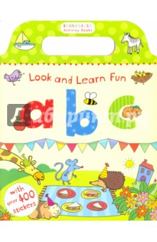 Look and Learn Fun. ABC (Sticker Book)Литература на иностранном языке для детей<br>Have fun learning your ABCs with this fantastic activity book, packed full of stickers. Trace over the letters, colour in the pictures, add alphabet stickers and much more!<br>