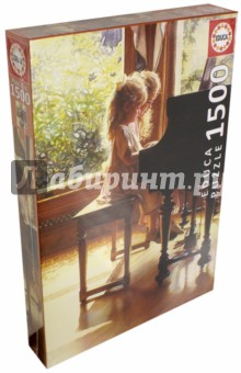 Пазл-1500 В четыре руки (16772)Пазлы (1500 элементов)<br>Пазл-мозаика.<br>1500 элементов.<br>Размер собранной картинки 60 х 85 см.<br>Материал: картон.<br>Упаковка: картонная коробка.<br>Сделано в Испании.<br>