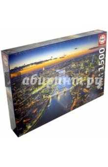 Пазл-1500 Лондон с высоты птичьего полета (16765)Пазлы (1500 элементов)<br>Пазл-мозаика.<br>1500 элементов.<br>Размер собранной картинки 85 х 60 см.<br>Материал: картон.<br>Упаковка: картонная коробка.<br>Сделано в Испании.<br>