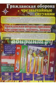 Комплект тематических плакатов. Гражданская оборона и техногенные катастрофы. ФГОС