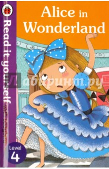 Alice in WonderlandЛитература на иностранном языке для детей<br>This is based on the classic story by Lewis Carroll. Alice is feeling bored when she finds herself following a large white rabbit down a rabbit hole. Then things get even stranger...Read it yourself with Ladybird is one of Ladybird s best-selling reading series. For over thirty-five years it has helped young children who are learning to read develop and improve their reading skills. Each Read it yourself book is very carefully written to include many key, high-frequency words that are vital for learning to read, as well as a limited number of story words that are introduced and practised throughout. Simple sentences and frequently repeated words help to build the confidence of beginner readers and the four different levels of books support children all the way from very first reading practice through to independent, fluent reading. Each book has been carefully checked by educational consultants and can be read independently at home or used in a guided reading session at school. Further content includes comprehension puzzles, helpful notes for parents, carers and teachers, and book band information for use in schools. Alice in Wonderland is a Level 4 Read it yourself book, ideal for children who are ready to read longer stories with a wider vocabulary and are keen to start reading independently.<br>