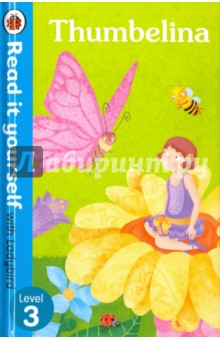 ThumbelinaЛитература на иностранном языке для детей<br>Pretty Thumbelina is the size of a thumb! Find out what happens when she meets lots of strange characters. For over thirty-five years, the best-selling Read it yourself with Ladybird has helped children learn to read. All titles feature essential key words. Story-specific words are repeated to practise throughout. Designed to be read independently at home or used in a guided reading session at school. All titles include comprehension questions or puzzles, guidance notes and book band information for schools. This Level 3 title is suitable for children who are developing reading confidence and are eager to start reading longer stories with a wider vocabulary.<br>