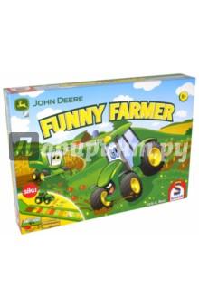 John Deer, Funny Farmer (40568)Другие настольные игры<br>Время сбора урожая, и все фермеры в приподнятом настроении. Помоги им собрать свой богатый урожай. <br>Но будь осторожен! Начинается гроза, которая испортит его. <br>ВНИМАНИЕ! Не рекомендуется для детей младше 3 лет.<br>Упаковка: картонная коробка.<br>Рекомендуемый возраст игроков: 5+<br>Количество участников: 2-5.<br>Среднее время партии: 20 минут.<br>Сделано в Германии.<br>