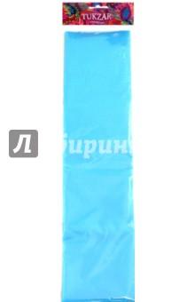 Бумага цветная крепированная, голубая (TZ 15112) TUKZAR