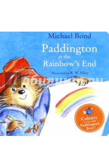 Paddington at the Rainbows End (board book)Литература на иностранном языке для детей<br>Paddington is introduced to younger readers in this pre-school picture book, starring one of the world s best-loved characters, Paddington Bear, now a major movie star! Reissued with attractive new cover branding.<br>Paddington Bear loves all the colours of the rainbow. But after a long day shopping in town, there is one particular colour that he likes above all others…<br>Pre-schoolers will love learning about colours with the help of Paddington!<br>