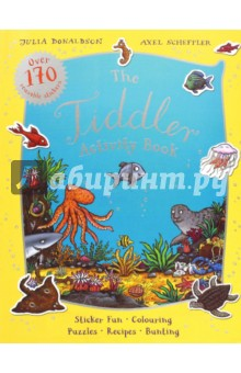 Tiddler Activity BookЛитература на иностранном языке для детей<br>Packed with stickers, colouring and puzzles, theres plenty to keep Tiddler fans busy for hours. Included in the book: over 130 reusable stickers, recipes, bunting, finger puppets, colouring-in, dot-to-dots, spot the difference, mazes, simple word searches and more!<br>