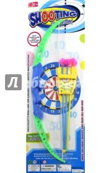 Лук со стрелами Арчер (42.5см) (57836)Игровое оружие<br>Игрушка для развлечений, спортивных и подвижных игр.<br>Комплектность: лук с 3 стрелами. <br>Изготовлено из пластмассы, с элементами текстильных материалов. <br>Не рекомендовано детям младше 3-х лет. Содержит мелкие детали.<br>Использовать только под непосредственным присмотром взрослых.<br>Сделано в Китае.<br>