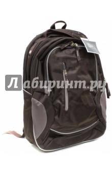 Рюкзак молодежный КОФЕЙНЫЙ ЦВЕТ (40774)Рюкзаки школьные<br>Рюкзак молодежный.<br>2 Основных отделения на молнии.<br>3 кармана на молнии.<br>Удобные мягкие лямки и спинка.<br>Материал: текстиль.<br>Сделано в Китае.<br>