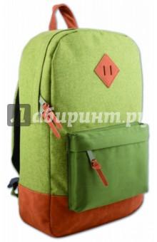 Рюкзак молодежный Зеленый+хаки (40407)Рюкзаки школьные<br>Рюкзак молодежный.<br>Лямки с регулировкой.<br>Накладной карман.<br>Размер: 40х28х11 см.<br>Материал: полиэстер 100%.<br>Сделано в Китае.<br>