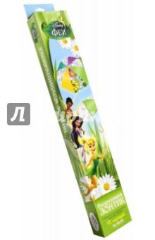 Набор для раскрашивания зонтика Феи. Динь-Динь (01507)Роспись по ткани<br>Придумай расцветку для своего зонтика и раскрась яркими маркерами!<br>В наборе: зонтик с контурным рисунком,  набор водостойких маркеров.<br>Упаковка: картонная коробка с подвесом.<br>Материал: полиэстер, металл, пластмасса.<br>Для детей от 4 лет.<br>Сделано в Китае.<br>