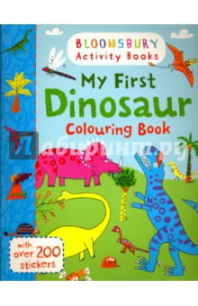 My First Dinosaur Colouring BookЛитература на иностранном языке для детей<br>Have fun with this amazing colouring and drawing book, packed full of stickers!<br>This amazing colouring and drawing book is packed full of exciting scenes to colour in and plenty of space to doodle, scribble and draw! Also includes loads of stickers for hours of fun!<br>Bloomsbury Activity Books provide hours of colouring, stickering and activity fun for boys and girls alike. Every book includes enchanting, bright and beautiful illustrations which children and parents will find very hard to resist. Perfect for providing entertainment at home or on the move!<br>