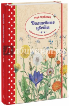 Волшебные цветы. Мой гербарий. Собираем и изучаем садовые растенияДругое<br>О книге<br>Эта книга посвящена 16 садовым растениям - про каждое из них ребенок узнает много интересного. Точные рисунки, сделанные художником с натуры, помогут легко найти и распознать эти растения в саду и на даче.<br><br>Книга - увлекательное подспорье в учебе. Если в школе задали на лето сделать гербарий, скучное задание учителя станет волшебным!<br><br>Советы по сбору и высушиванию растений пригодятся для создания собственного гербария. Хранить растения можно прямо в книге - каждому цветку отведена особая страничка и отдельный лист кальки, который надежно защищает от повреждения.<br><br>Весело и доступно книга рассказывает, с чего начать, как работать и на что обращать внимание при сборе и засушивании растений.<br><br>А если будущий натуралист захочет не просто наклеивать цветы в гербарий, а как-то еще их использовать, как нельзя кстати придутся подсказки - какие замечательные вещи можно делать из сухих цветов, если подойти к делу творчески. Идей море - только успевай воплощать!<br><br>Фишки книги<br>Необычный формат - папка на пружине, листы с калькой и с клапанами.<br><br>Информация о растениях подана гораздо увлекательнее, чем в учебнике биологии.<br><br>Нежные, невероятно красивые иллюстрации.<br><br>Важная и редкая тема - ребёнок научится любить и ценить природу.<br><br>Альбом с гербарием станет предметом гордости будущего натуралиста.<br><br>Для кого эта книга<br>Для детей от 5 лет.<br><br>Для всех, кто любит прекрасные растения и альбомы, сделанные своими руками.<br><br><br>Об авторах<br>Стефани Циск - педиатр, автор книг о природе и мама двоих детей.<br><br>Природу она полюбила еще в детстве, когда вместе со своим отцом, врачом и орнитологом, проводила долгие часы на свежем воздухе в родной Баварии и далекой Канаде, изучая флору и фауну этих мест. В ее семье всегда жили разнообразные животные - морские свинки, хомяки, песчаные мыши дегу, кошки, а однажды даже ручная лиса.<br><br