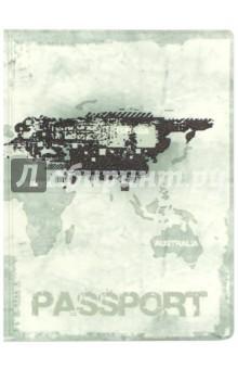 Обложка для паспорта Твой стиль. Гранж (2203.Т2)Обложки для паспортов<br>Обложка для паспорта.<br>Кожзам с полноцветным рисунком.<br>Размер: 188х134 мм.<br>