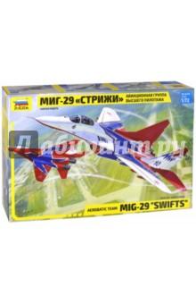 """Самолет """"МИГ-29"""" авиагруппа """"Стрижи"""" 1/72 (7310)"""